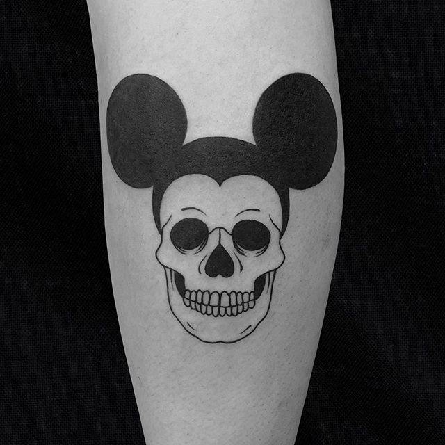 Micky mouse tattoo