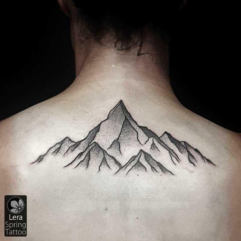 קעקוע הרים