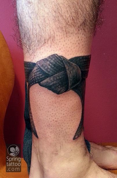 judo tattoo by Aviv Rotshas